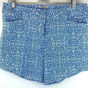 Adidas Golf Womens Advance Deco Print Shorts Sz 14
